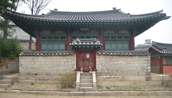 Photo of first Korean library Jongyeonggak 존경각