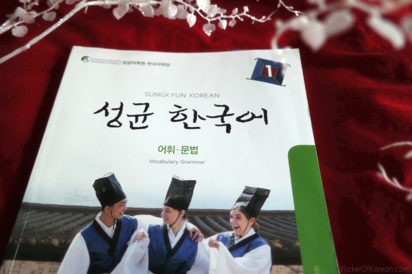 Korean beginner textbook I studied from each morning