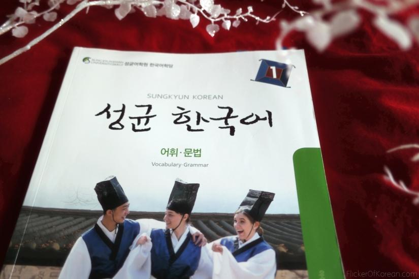 Korean beginner textbook I studied from each morning