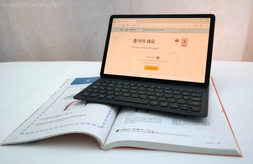 Samsung tablet with keyboard